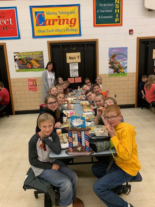 Mrs. Selby's 4th grade won april attendance
