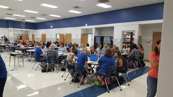 Staff inservice in August