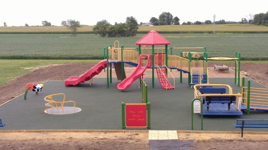 new playground installed 2019