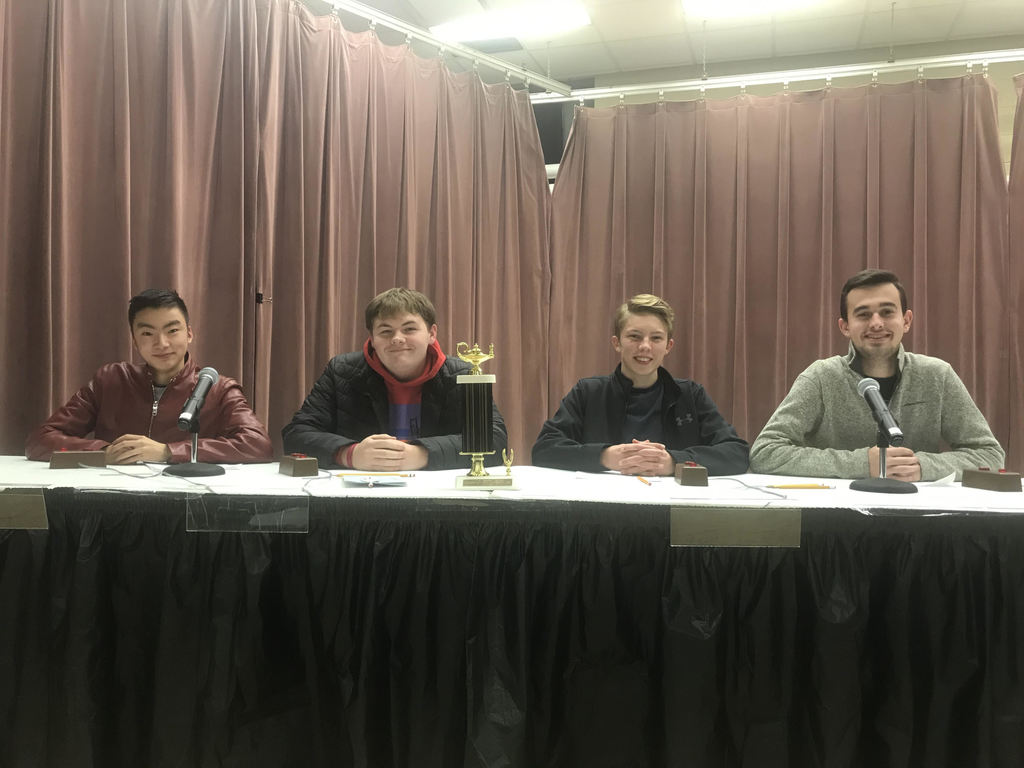 2019 Quiz Bowl team