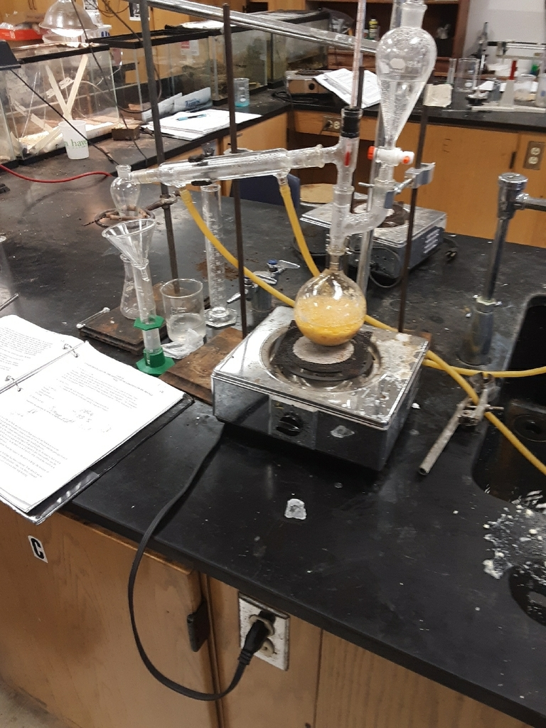 steam distillation of limonene