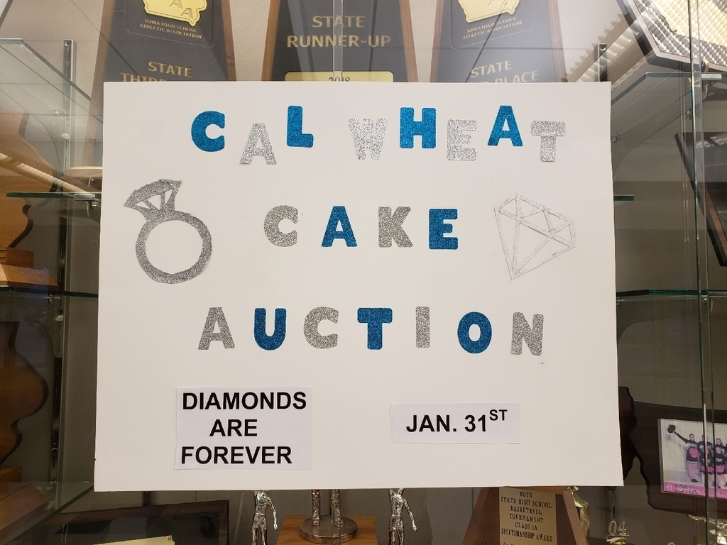 Cal-Wheat Cake Auction Diamonds are Forever Jan. 31st