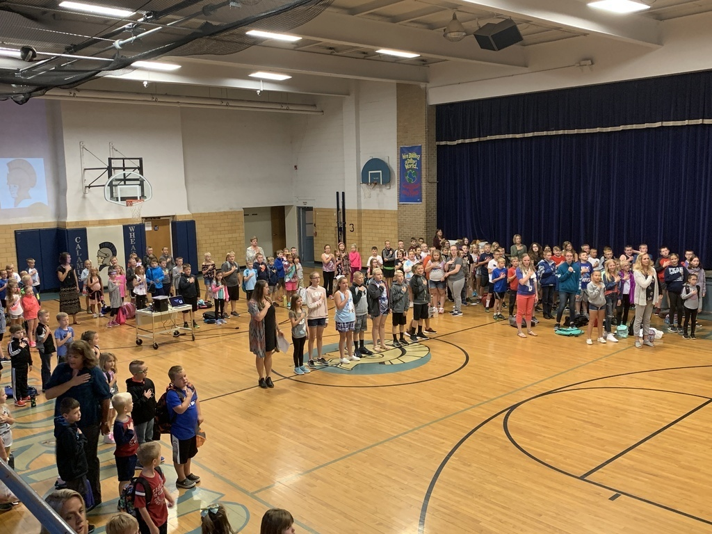 assembly and pledge of allegiance