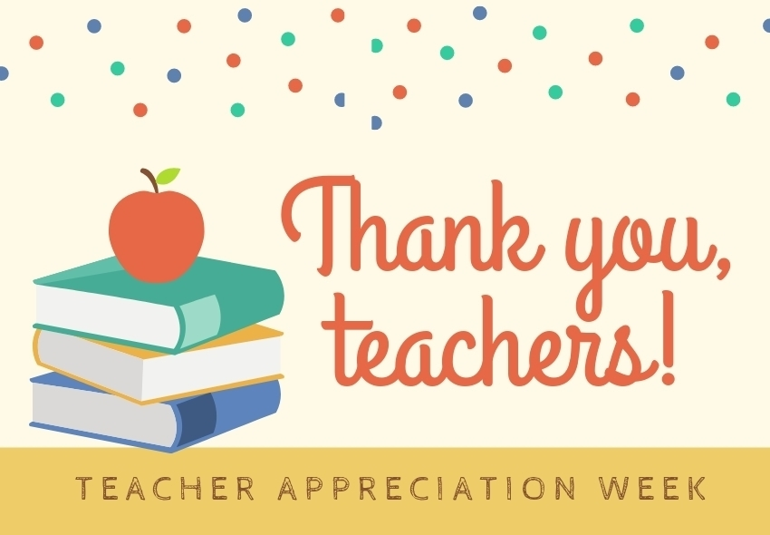 Teacher Appreciation-Tuesday